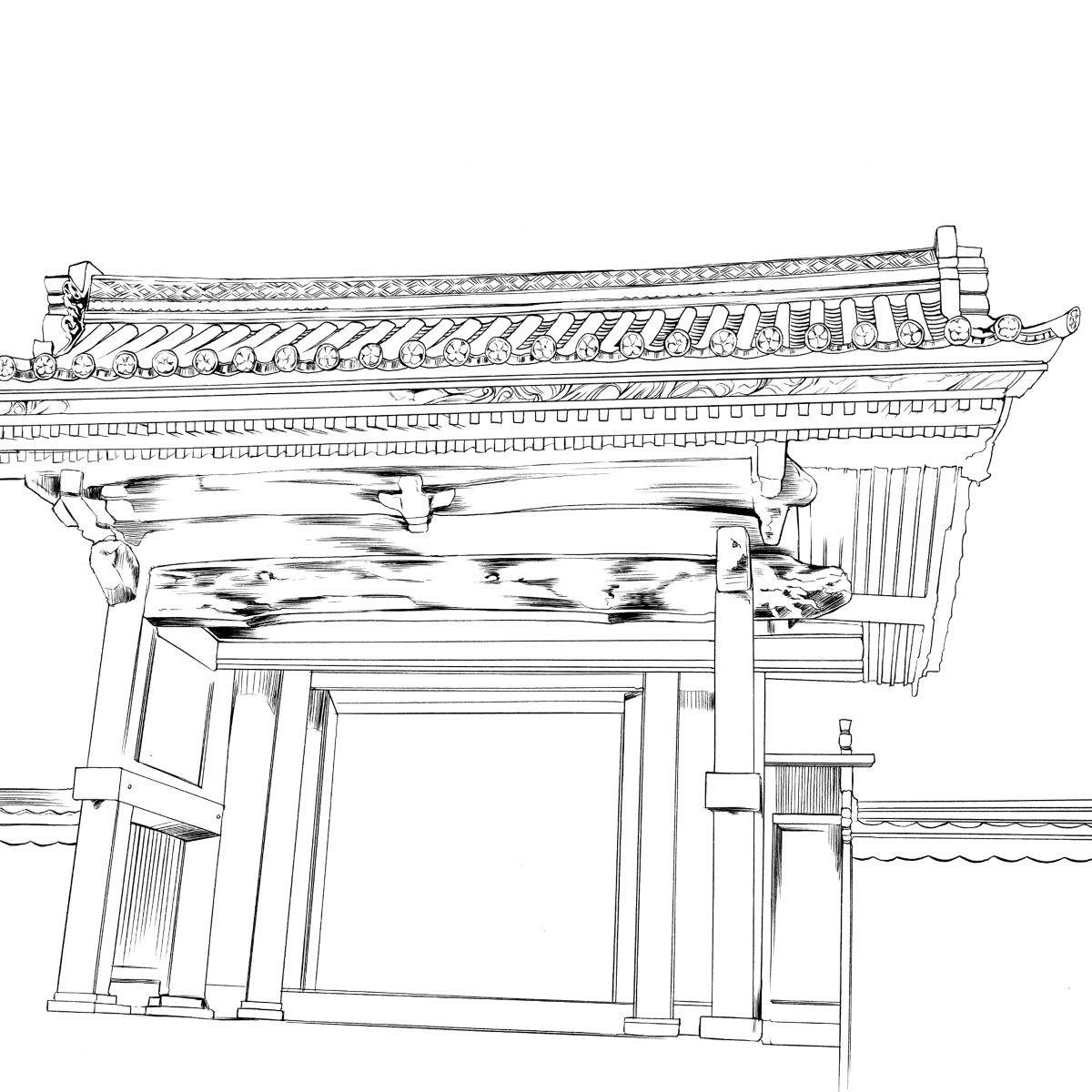 建筑图稿透视素材