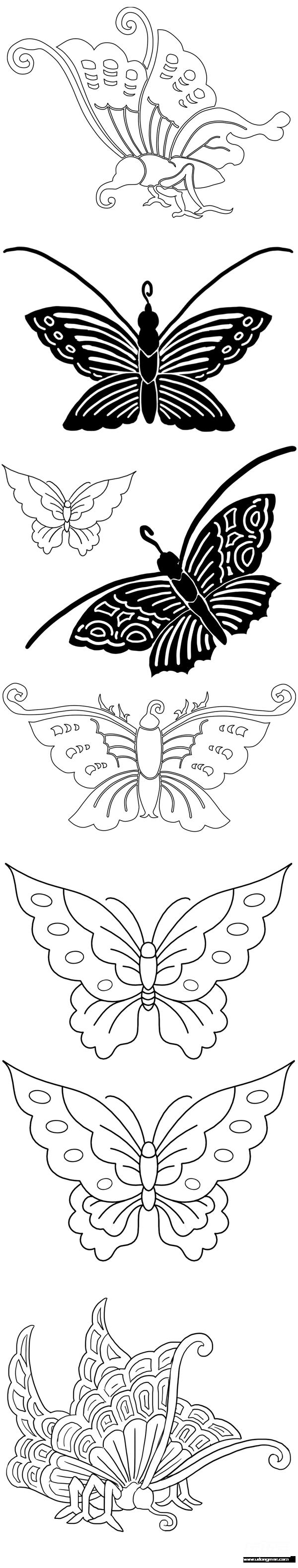 安利集 和风蝴蝶png素材~ 标签:蝴蝶和风素材图腾