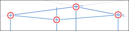 天井の他の線を描く