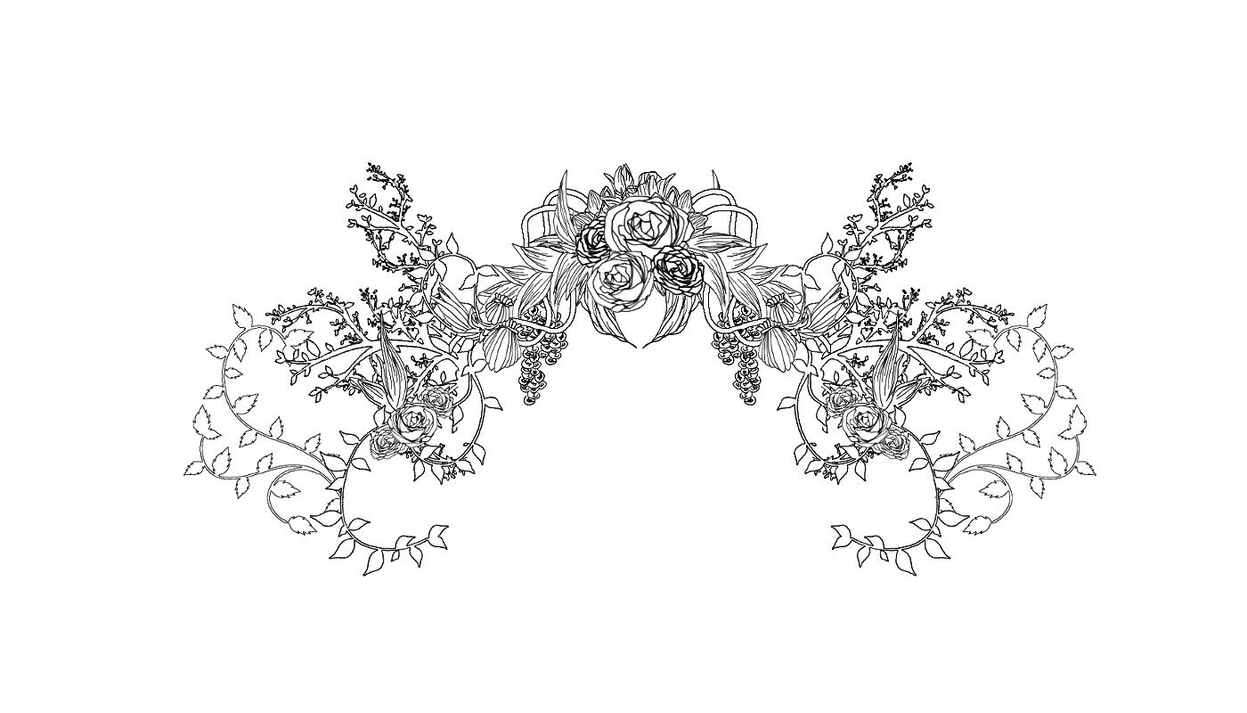 标签:装饰花边素材蕾丝