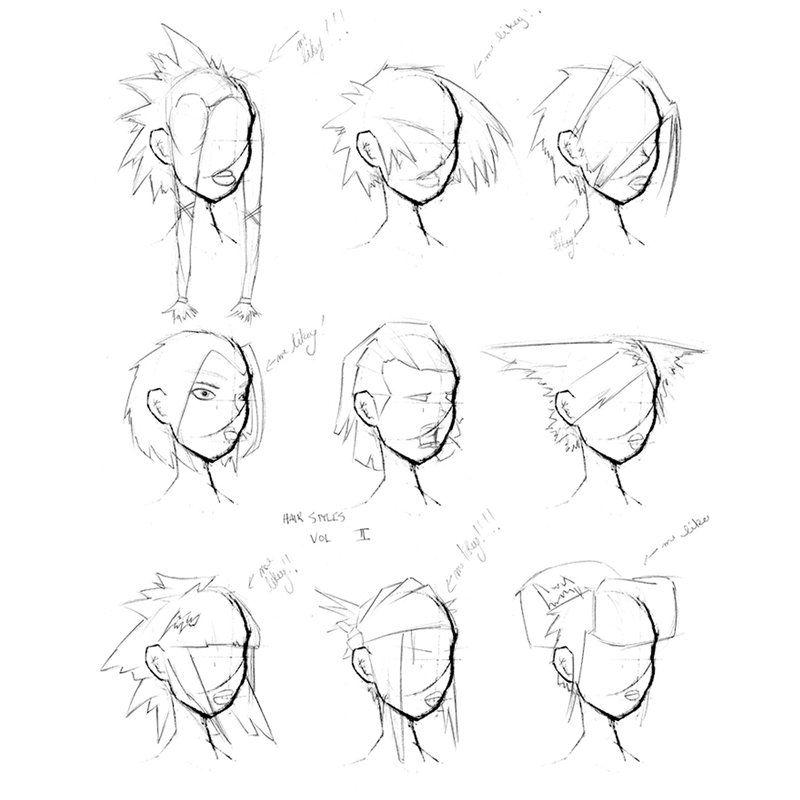 女生发型参考案例 - 优动漫