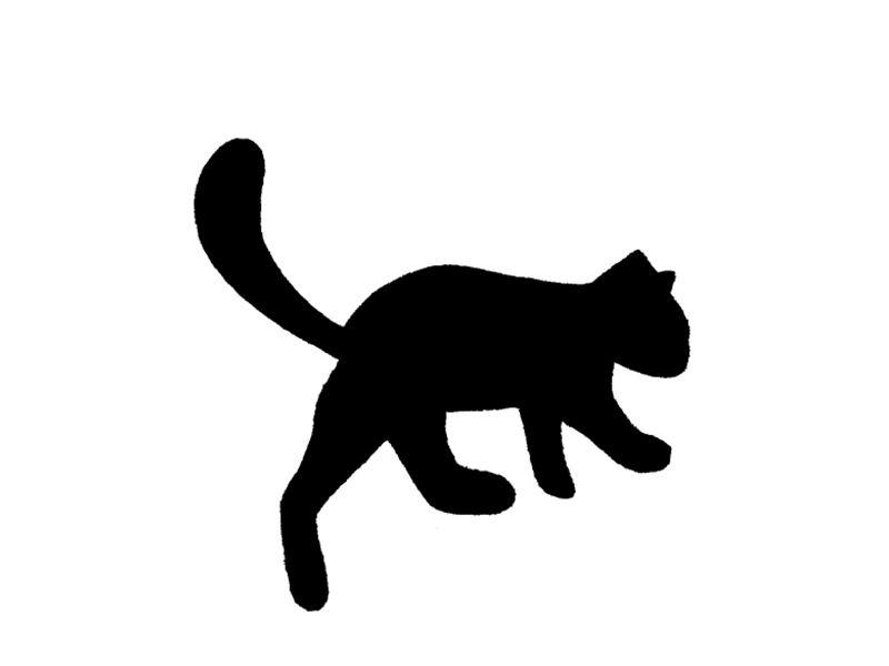 猫的剪影素材集 - 优动漫 动漫创作支援平台
