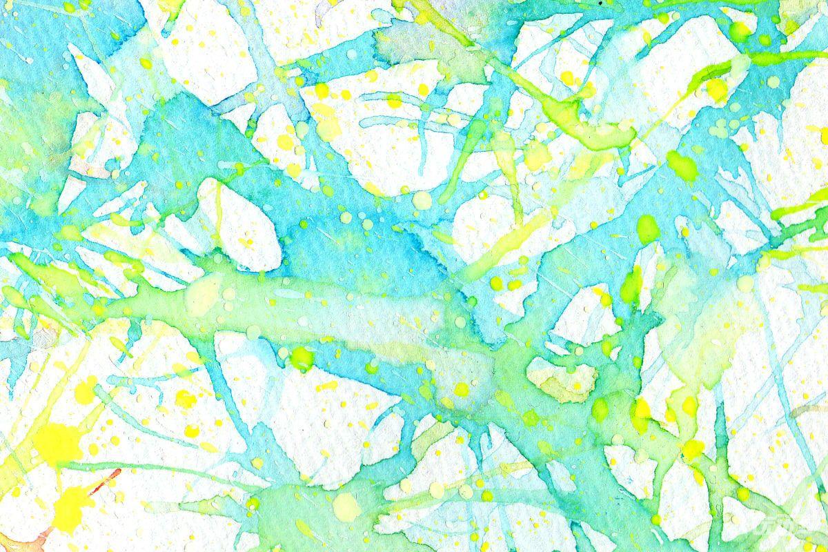 夏日水彩纹理素材 - 优动漫