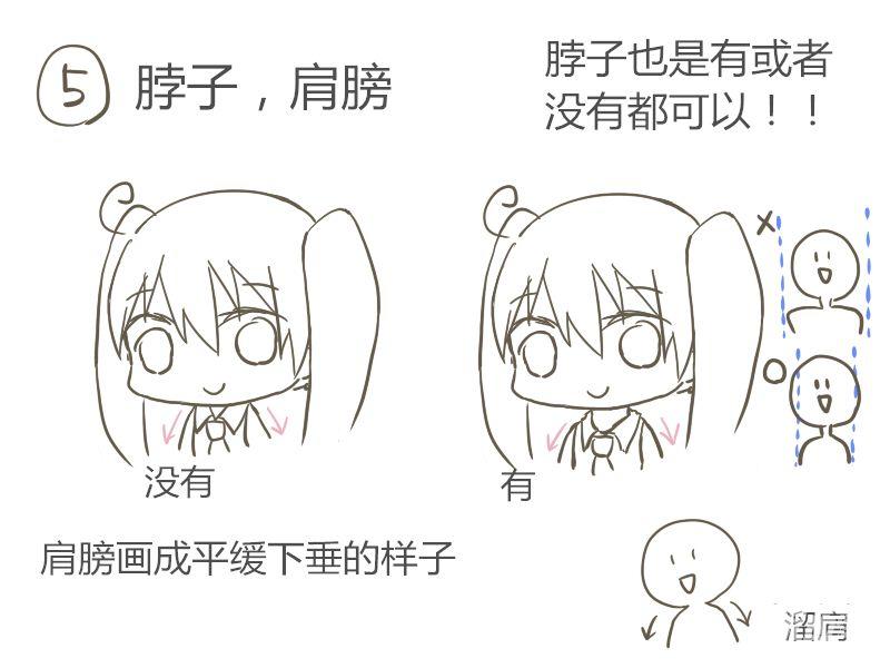 q版小人画法教程 - 优动漫