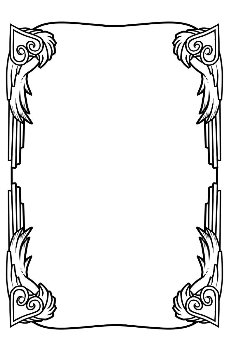 塔罗牌边框素材 - 优动漫