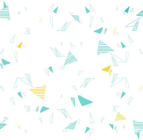 三角形碎片素材 - 优动漫