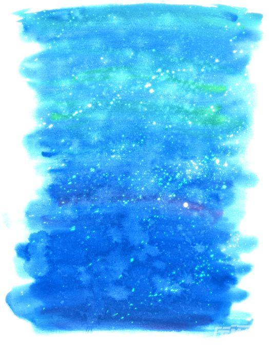 水彩填充背景素材 - 优动漫