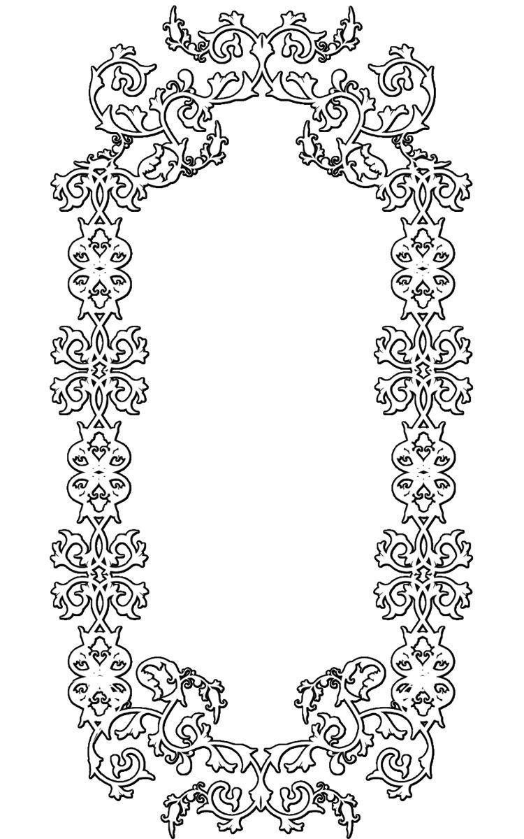 花边边框素材竖版_a4纸手抄报花边边框素材_菜谱花边