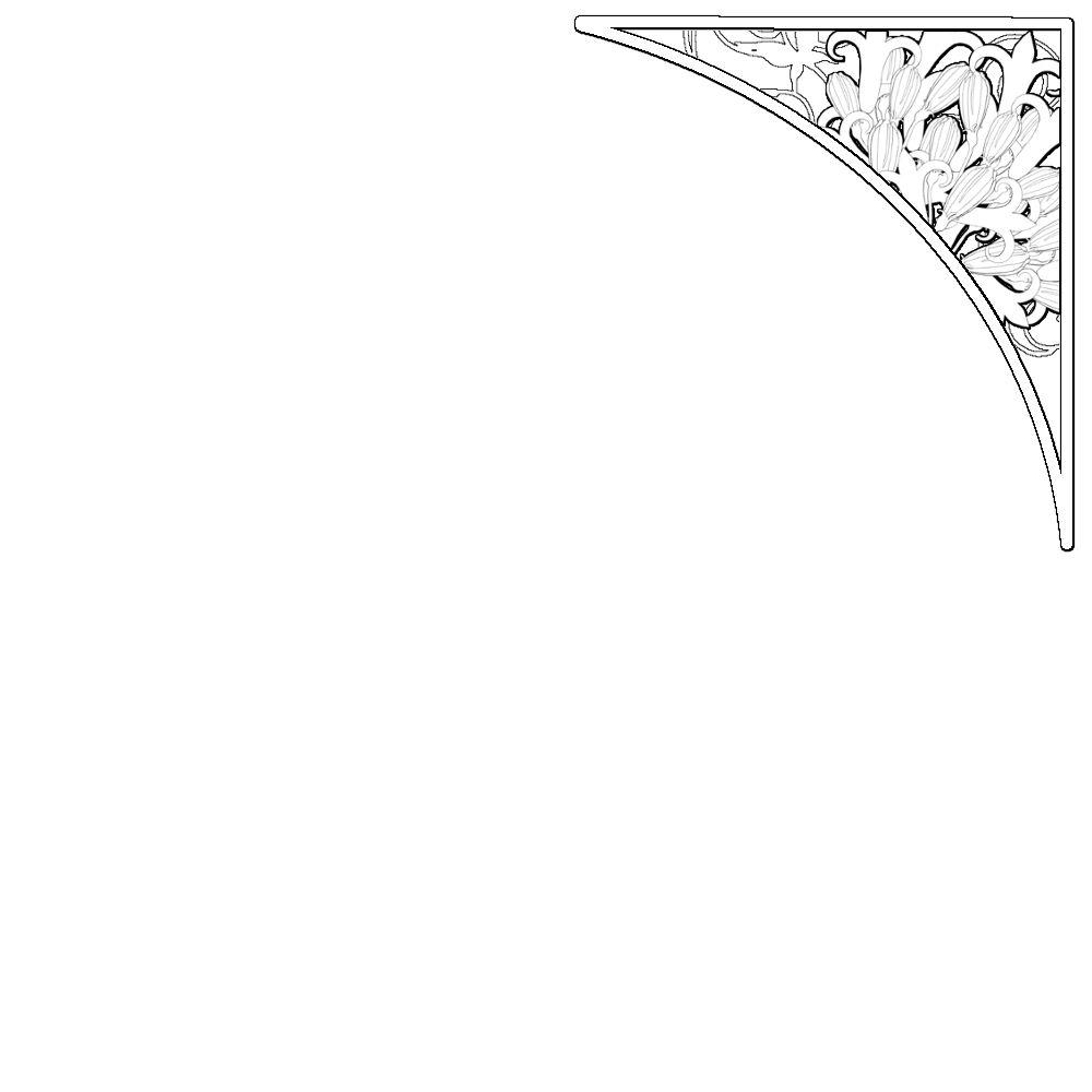 双心形边框素材_心形黑白边框素材_森林椭圆形边框