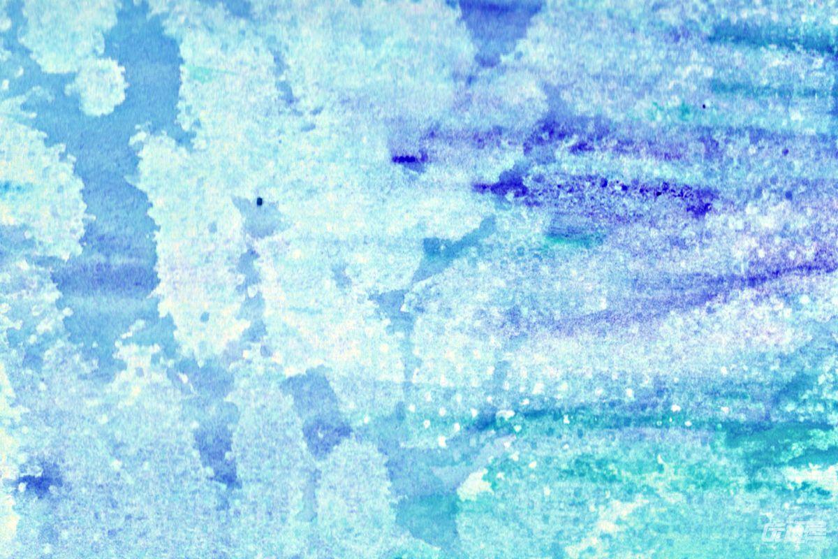 水彩背景素材 - 优动漫