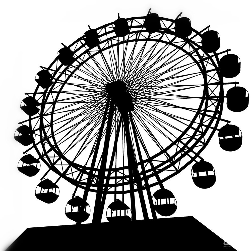 多角度摩天轮素材 - 优动漫 动漫创作支援平台
