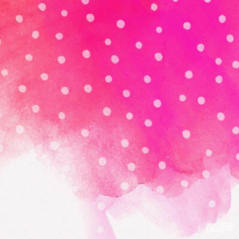 波点水彩背景素材 - 优动漫