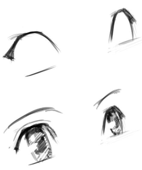 少女漫画中大眼睛的画法