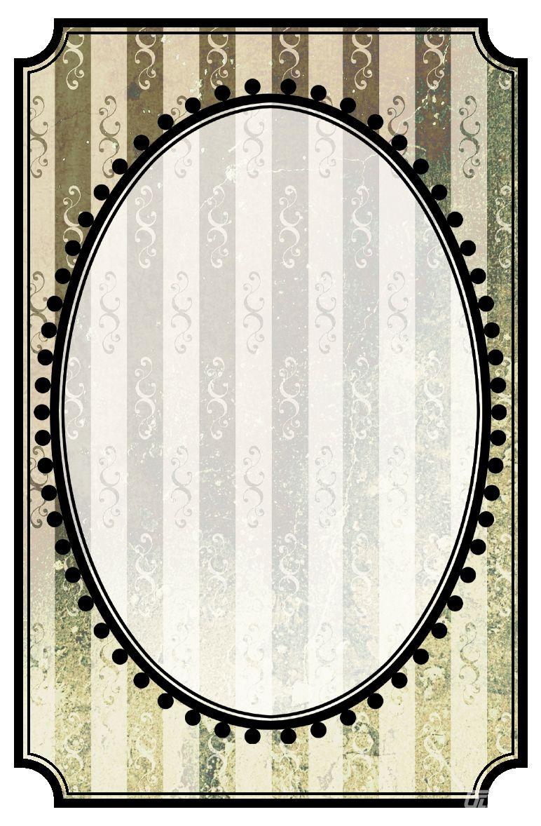 椭圆边框素材 - 优动漫