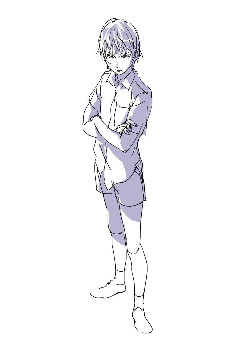 qq头像 男生手绘画