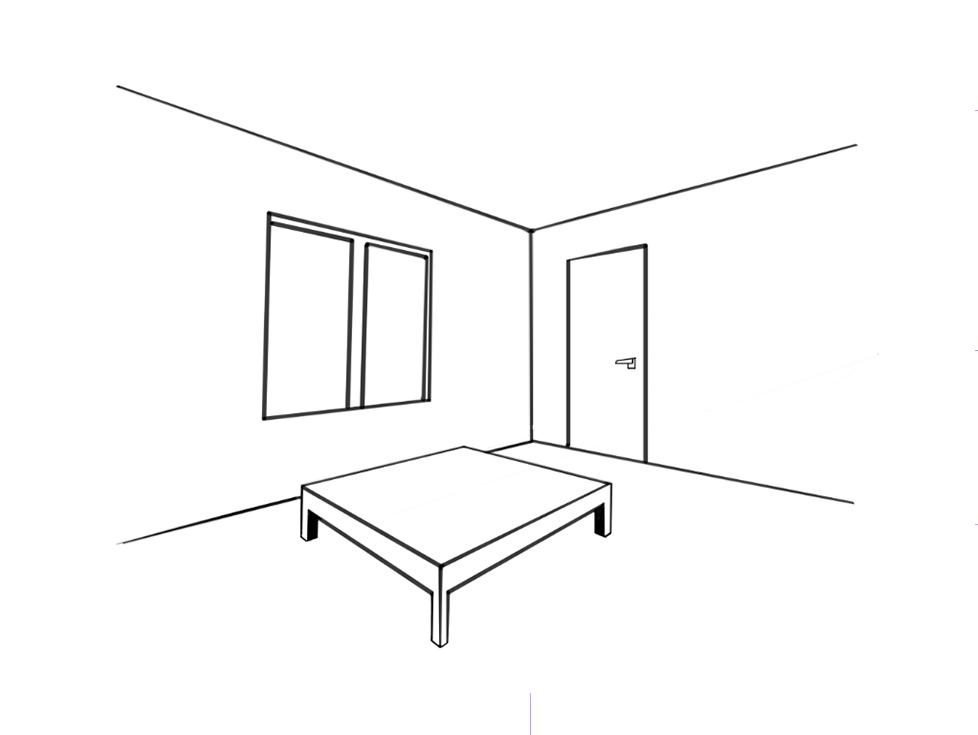 第91课 两点透视画法